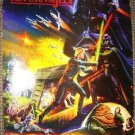 RETURN OF THE JEDI Original PROMO Hi-C POSTER Star Wars Double Sided GIVEAWAY