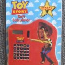 TOY STORY Vintage WOODY Soft CALCULATOR Disney PIXAR Mint in Package 16 Year Old