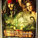 JOHNNY DEPP Original PIRATES OF THE CARIBBEAN Printers Proof  Movie Poster