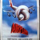 AIRPLANE! Original ROLLED Rare Movie POSTER Julie Hagerty ROBERT HAYS Paramount