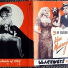 MARIE WILSON  Blackouts of 1944 KEN MURRAY  El Capitan Theatre HOLLYWOOD Vintage