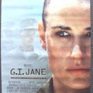 DEMI MOORE  Original G.I. JANE  ROLLED Movie POSTER 19 x 27 GI War RIDLEY SCOTT