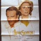 CATHERINE DENEUVE Love Songs 1-Sheet Movie POSTER Christopher Lambert TOPAZIO