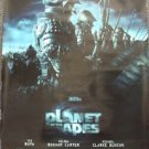 PLANET OF THE APES Original ROLLED Movie POSTER Tim Burton ADVANCE Soldiers