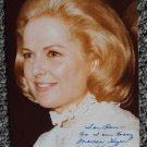 MARTHA HYER Wallis Original SIGNED in Person AUTOGRAPH PHOTO One of a Kind Image