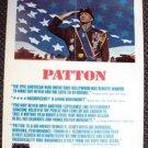 GEORGE C SCOTT Original  PATTON  Window Card POSTER 1970 Twentieth Century Fox