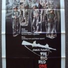 BIG RED ONE Original 1-Sheet Movie POSTER Mark Hamill LEE MARVIN World War II