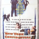 New York Confidential N.Y. 1-Sheet Movie Poster ORIGINAL Anne Bancroft CRAWFORD