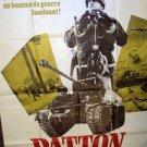 PATTON Original GEORGE C SCOTT Foreign POSTER 1970 Twentieth Century Fox HUGE