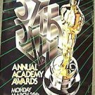 57th ORIGINAL Academy Awards ABC Promo TV POSTER Oscar Statue 1985  Television