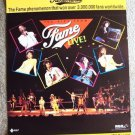 KIDS from FAME Concert POSTER Erica Gimpel DEBBIE ALLEN Lori Singer PROMOTIONAL
