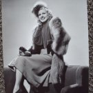 MARJORIE WOODWORTH Original Fashion in  Fur HAL ROACH  Photo PRESS SNIPE Attachd