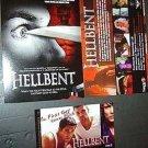 HELLBENT Gay SLASHER HORROR Promo POSTCARD & MAGNET Set