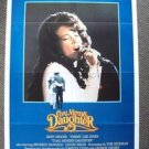 COAL MINER'S DAUGHTER Original 1-Sheet Movie  Poster  LORETTA LYNN Sissy Spacek