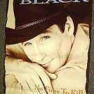 CLINT BLACK Original PROMO Country Western MUSIC Poster COWBOY STETSON Photo