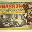 CIMARRON Foreign WESTERN Lobby Card MARIA SCHELL Glenn Ford ANNE BAXTER