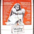 CAROL KANE Original WEDDING IN WHITE 1-Sheet Movie POSTER 1973