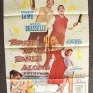 BRING YOUR SMILE ALONG Original BLAKE EDWARDS 1-Sheet POSTER Frankie Laine  1955