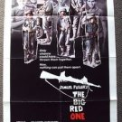 BIG RED ONE Original POSTER Mark Hamill LEE MARVIN Robert Carradine ARMY U.S War