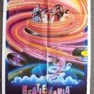 BEATLEMANIA Original Movie POSTER  Fab FOUR The BEATLES John Lennon RINGO STARR