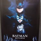 BATMAN Return ORIGINAL ADVANCE Poster TIM BURTON Michelle Pfeifer MICHAEL KEATON