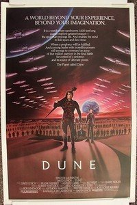 DUNE  Original Rolled Style MOVIE  POSTER  Kyle MacLachlan  STING   David Lynch