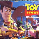 Toy Story 1996 CALENDAR  WOODY Buzz Lightyear REX DINOSAUR Bo Peep ALIEN Hamm