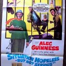 SITUATION HOPELESS BUT NOT SERIOUS 1-Sheet  POSTER Alec Guinness MIKE CONNORS 65