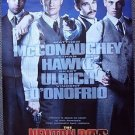NEWTON BOYS Double Side POSTER Ethan Hawke SKEET ULRICH Matthew McConaughey 1998