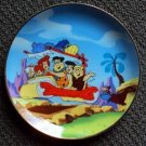 FLINTSTONES Franklin Mint HEIRLOOM Plate HANNA-BARBERA Fred Flintstone Dino 1992