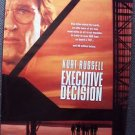 EXECUTIVE DECISION Original KURT RUSSELL Double Sided 1-Sheet MOVIE POSTER 1996