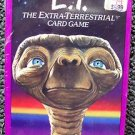 E.T Extra Terrestrial Sealed CARD GAME Kaybee Sticker MIB  Steven SPIELBERG