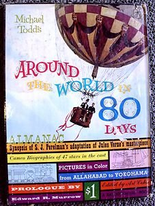 AROUND THE WORLD IN 80 DAYS Photo PICTURE BOOK Cantinflas JULES VERNE Original