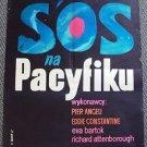 SOS PACIFIC S.O.S. Original POLISH Poster PIER ANGELI Richard Attenborough 1959