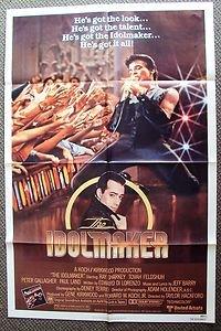 PETER GALLAGHER The IDOLMAKER Original 1-Sheet MOVIE POSTER Paul Land Sexy OC