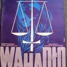 PENDULUM Original POLISH Poster GEORGE PEPPARD Jean Seberg RICHARD KILEY 1969