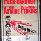 ON THE BEACH 1-Sheet POSTER Gregory Peck AVA GARDNER Stanley Kramer TONY PERKINS