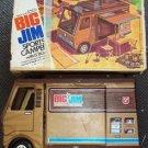 BIG JIM  Mattel SPORTS CAMPER Truck  Shell for Figure Doll vinyl Plastic BOX