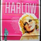 HARLOW Original 1-SHEET Movie Poster CAROL LYNLEY Ginger Rogers JEAN Blond Sexy