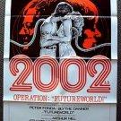 FUTUREWORLD Style C 1-Sheet Movie POSTER Blythe Danner Westworld  PETER FONDA