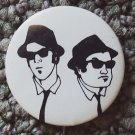 The BLUES BROTHERS Pin JOHN BELUSHI Dan Aykroyd PINBACK Button 1978 Phantom Ent