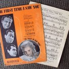 TOAST OF NEW YORK Sheet Music FRANCES FARMER Cary Grant RKO RADIO Pictures 1937