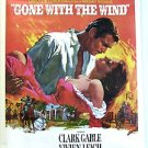 GONE WITH THE WIND Retail  M.G.M. Movie POSTER Clark Gable VIVIEN LEIGH MGM