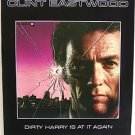 CLINT EASTWOOD Original DIRTY HARRY Promo SUDDEN IMPACT POSTER