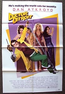 DOCTOR DETROIT Original 1-Sheet Poster DAN AYKROYD Nanny FRAN DRESCHER