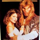 BEAUTY AND THE BEAST Original POSTER Ron Perlman & LINDA HAMILTON Vincent