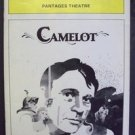 CAMELOT Playbill RICHARD BURTON Pantages Theatre 1981 SHELLEY HACK