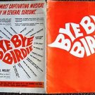 BYE BYE BIRDIE Theatre Program MUSICAL Elaine Dunn JOAN BLONDELL Bill Hayes