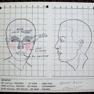 JANICE RULE Original Make-up Chart WARNER BROS Studio STARLIFT Doris Day MUSICAL