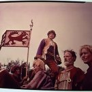 ALFRED THE GREAT Original COLOR TRANSPARENCY Press Snipe DAVID HEMMINGS England